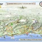 CARTIER MTB Tematik Harita