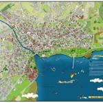 KONYA B. Ş.Belediyesi için Yapılmış BEYŞEHİR TURİZM HARİTASI